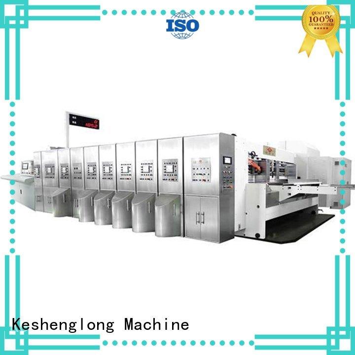 KeShengLong Brand automatic HD flexo printer slotter K9-Type factory