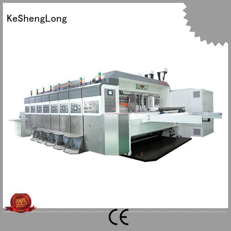 China hd flexo computerized structure HD flexo printer slotter KeShengLong Warranty fixed
