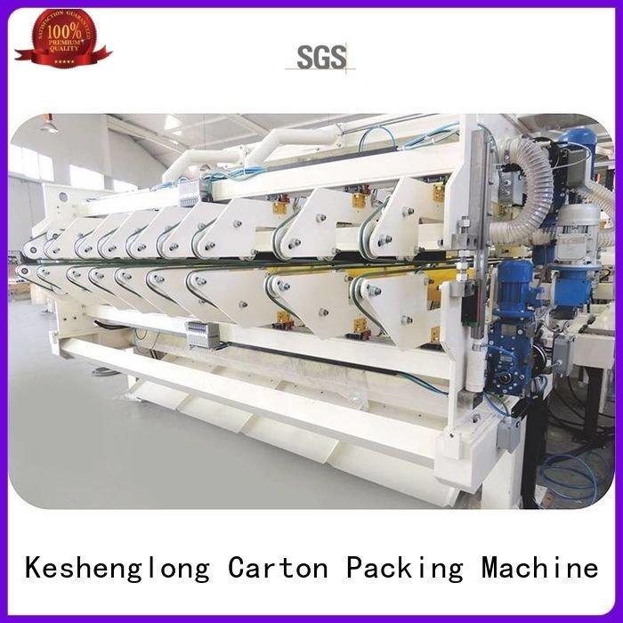 cardboard box printing machine four color Top KeShengLong Brand