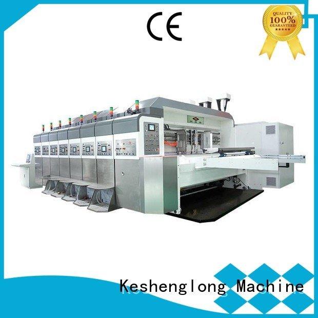 China hd flexo slotting KeShengLong Brand HD flexo printer slotter