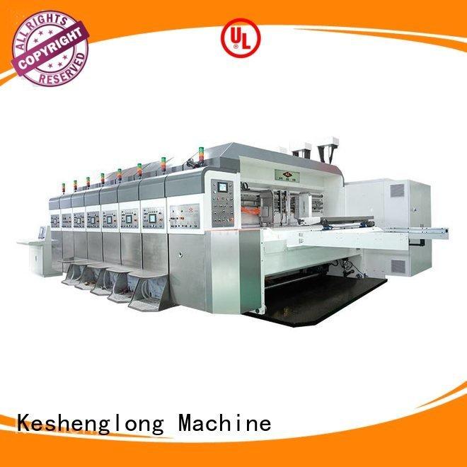 Hot China hd flexo computerized HD flexo printer slotter goutering KeShengLong