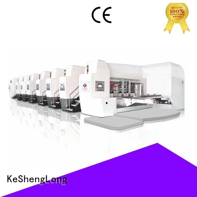 KeShengLong Brand ejecting flat K8-Type HD flexo printer slotter diecutting