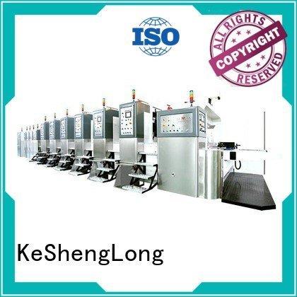KeShengLong Brand computerized diecutting cutting HD flexo printer slotter top