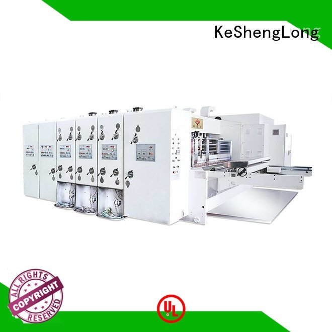 cutting machine KeShengLong flexo printing and die cutting machine