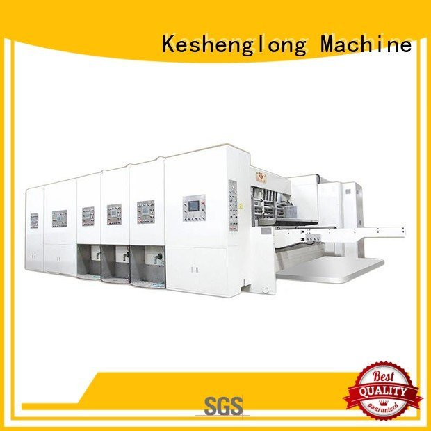 flexo printing and die cutting machine cutting automatic KeShengLong Brand