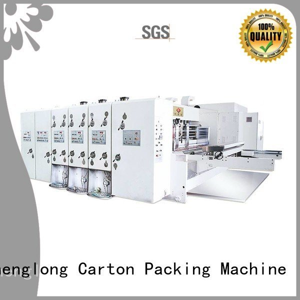 printing slotting machine flexo KeShengLong flexo printing and die cutting machine