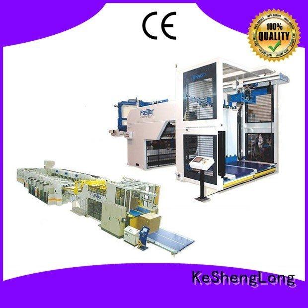 cardboard box printing machine Auxiliary cardboard box printing machine KeShengLong three color Top Auxiliary PFA