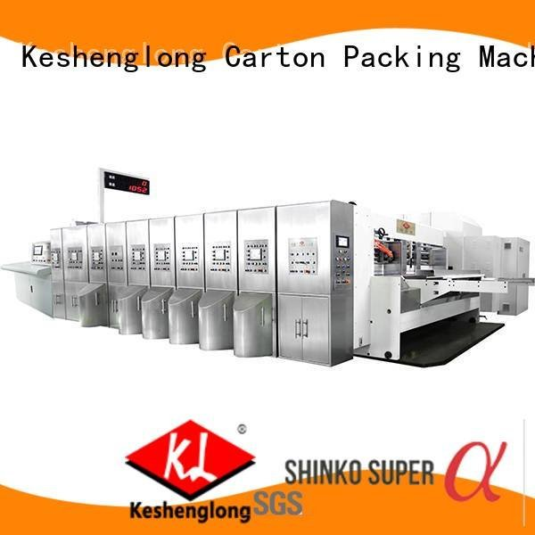 K8-Type computerized KeShengLong HD flexo printer slotter