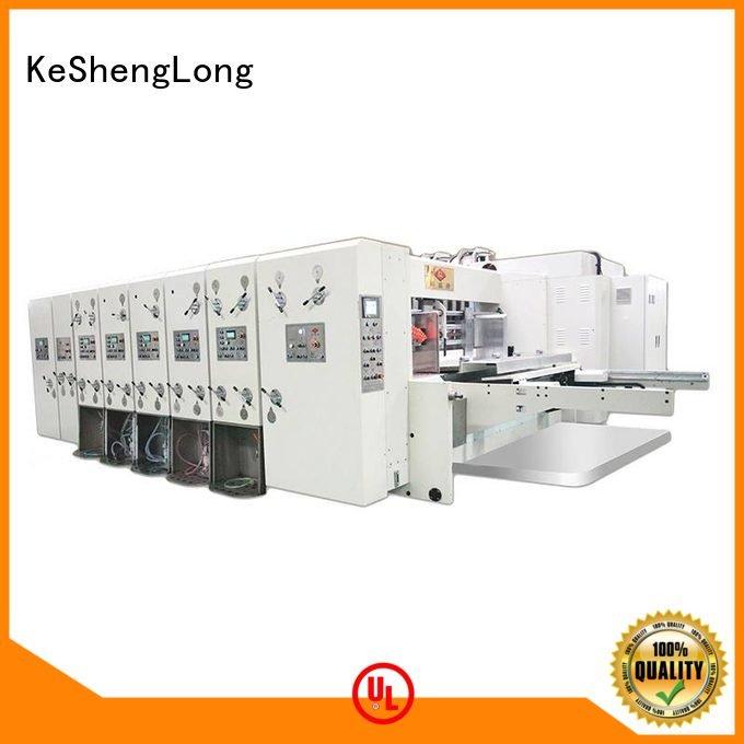 six color slotting automatic printing slotting die cutting machine machine KeShengLong