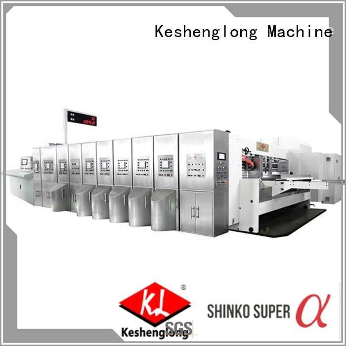 China hd flexo top cutting HD flexo printer slotter KeShengLong Warranty