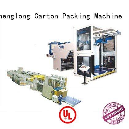 palletizer semiauto machine cardboard box printing machine KeShengLong