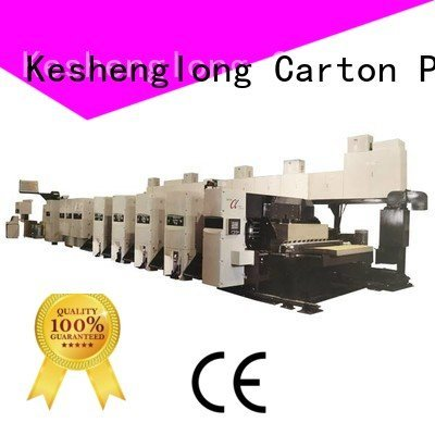 flexo printer slotter Carton flexo flexo printer slotter machine KeShengLong Warranty