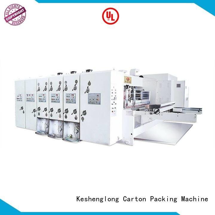 Custom automatic printing slotting die cutting machine cutting slotting (jumbo) KeShengLong