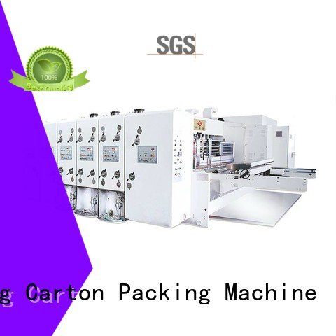 KeShengLong die three color printing flexo printing and die cutting machine six color