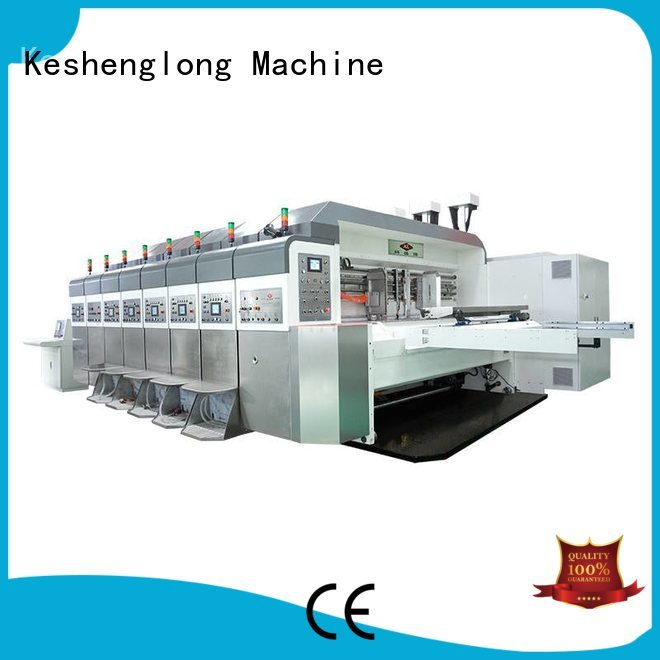 Custom HD flexo printer slotter flat top die KeShengLong