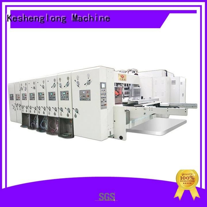 flexo printing three color flexo printing and die cutting machine KeShengLong