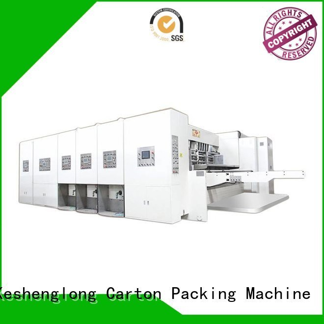 Custom automatic automatic printing slotting die cutting machine flexo flexo printing and die cutting machine