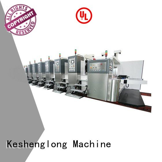 KeShengLong Brand K9-Type K8-Type inline HD flexo printer slotter control