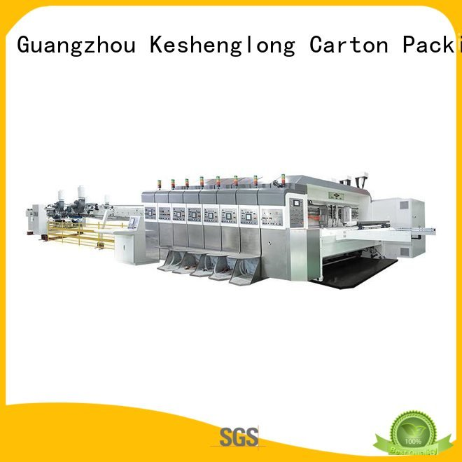 China hd flexo folding cutting KeShengLong Brand