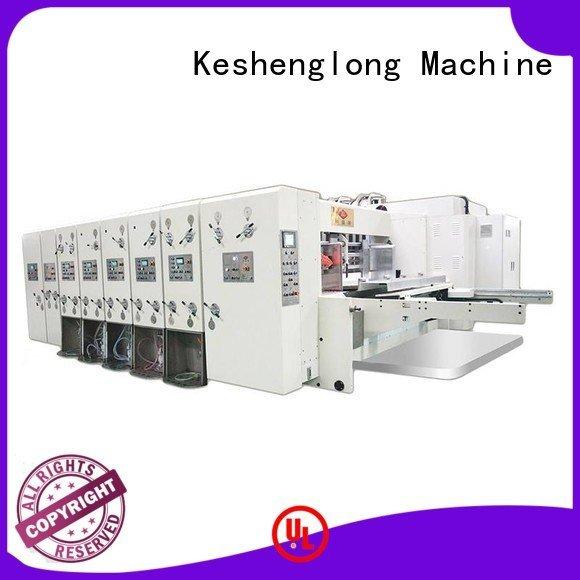 KeShengLong flexo automatic printing slotting die cutting machine computerized machine