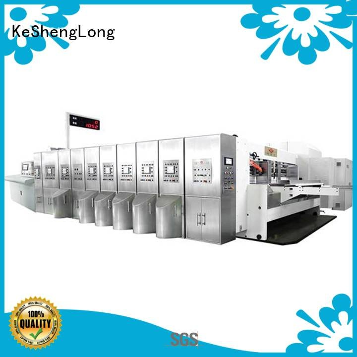 KeShengLong inline automatic HD flexo printer slotter diecutting die