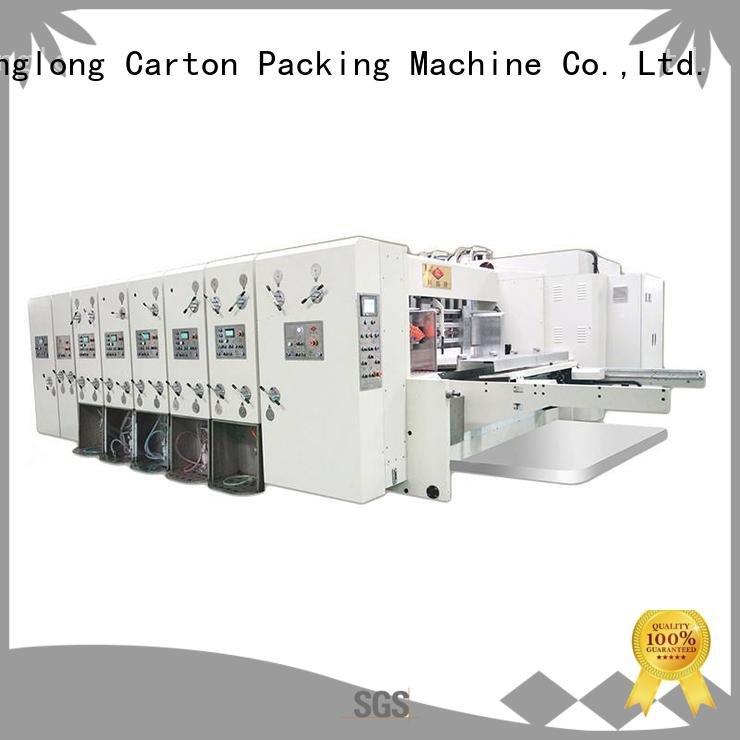 Wholesale machine computerized automatic printing slotting die cutting machine KeShengLong Brand