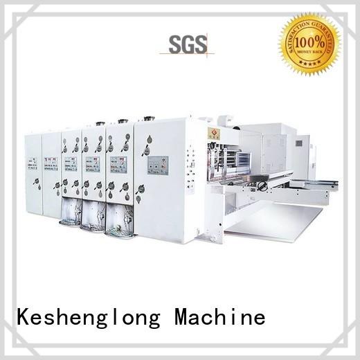 KeShengLong Brand die automatic printing slotting die cutting machine slotting factory