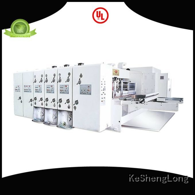 KeShengLong flexo printing and die cutting machine six color machine computerized