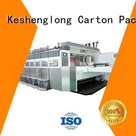 K8-Type cutting structure gluing KeShengLong HD flexo printer slotter