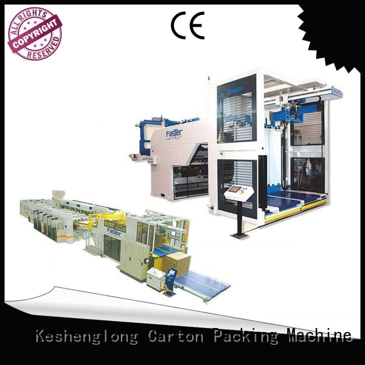 Auxiliary three color Top PFA Wholesale six color Top cardboard box printing machine KeShengLong Brand