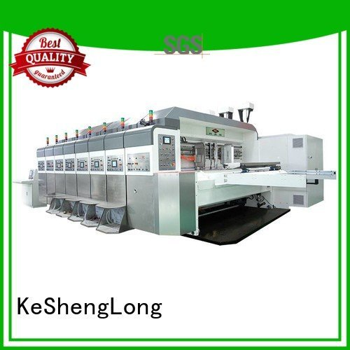 KeShengLong Brand control K8-Type cutting HD flexo printer slotter computerized