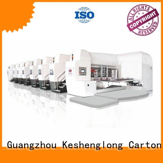 KeShengLong fixed HD flexo printer slotter K8-Type movable