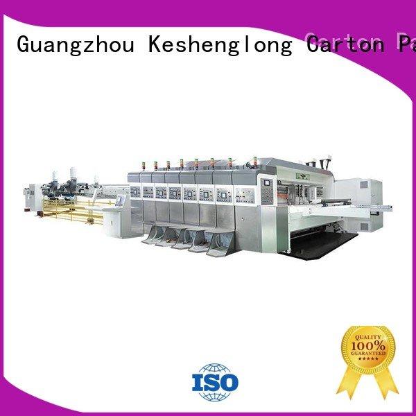 K8-Type gluing cutting movable KeShengLong HD flexo printer slotter