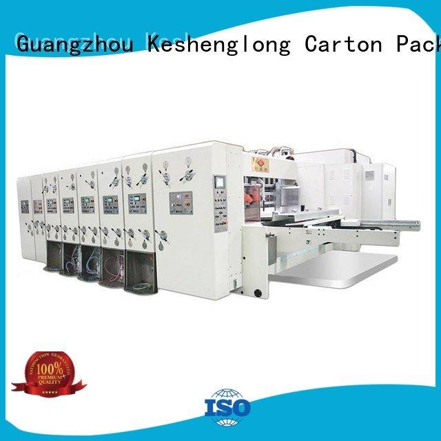six color jumbo automatic printing slotting die cutting machine die KeShengLong