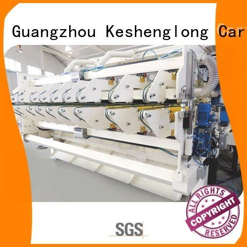 three color Auxiliary six color cardboard box printing machine KeShengLong