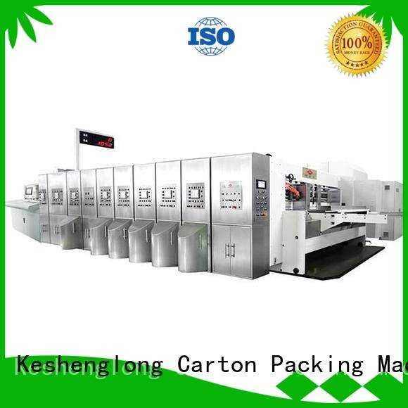 KeShengLong Brand fixed structure flexo HD flexo printer slotter