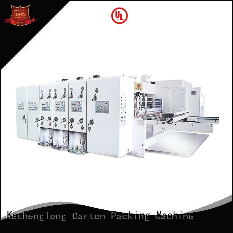 flexo printing and die cutting machine printing automatic printing slotting die cutting machine slotting