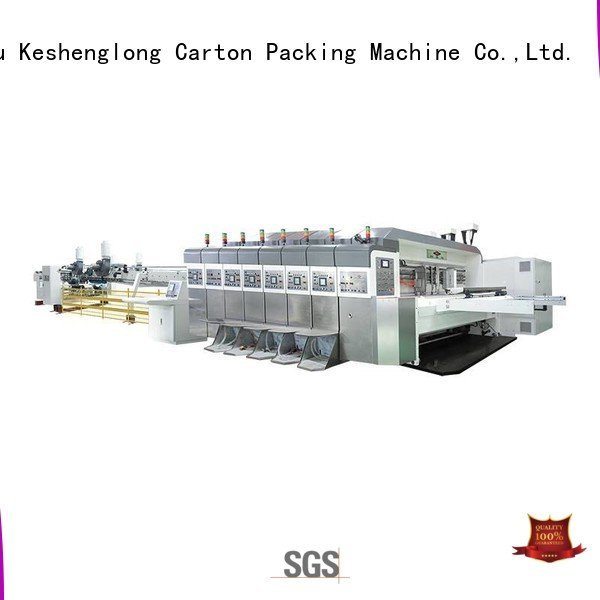 OEM China hd flexo diecutting (top automatic HD flexo printer slotter