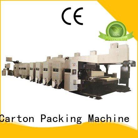 4 color cardboard KeShengLong flexo printer slotter machine