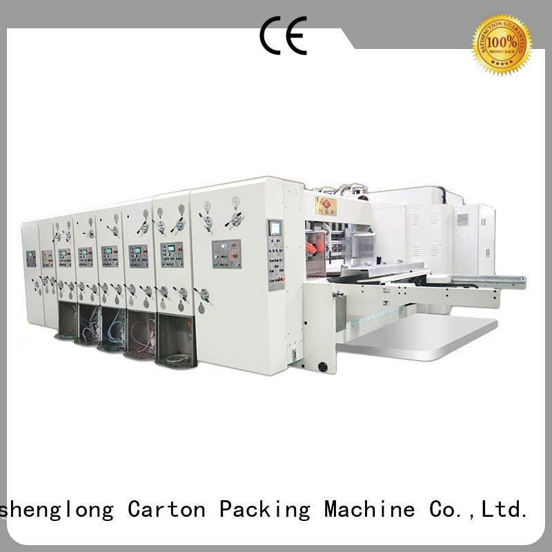 six color flexo KeShengLong flexo printing and die cutting machine