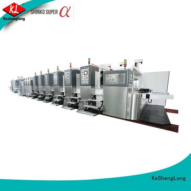 China hd flexo KeShengLong Brand HD flexo printer slotter
