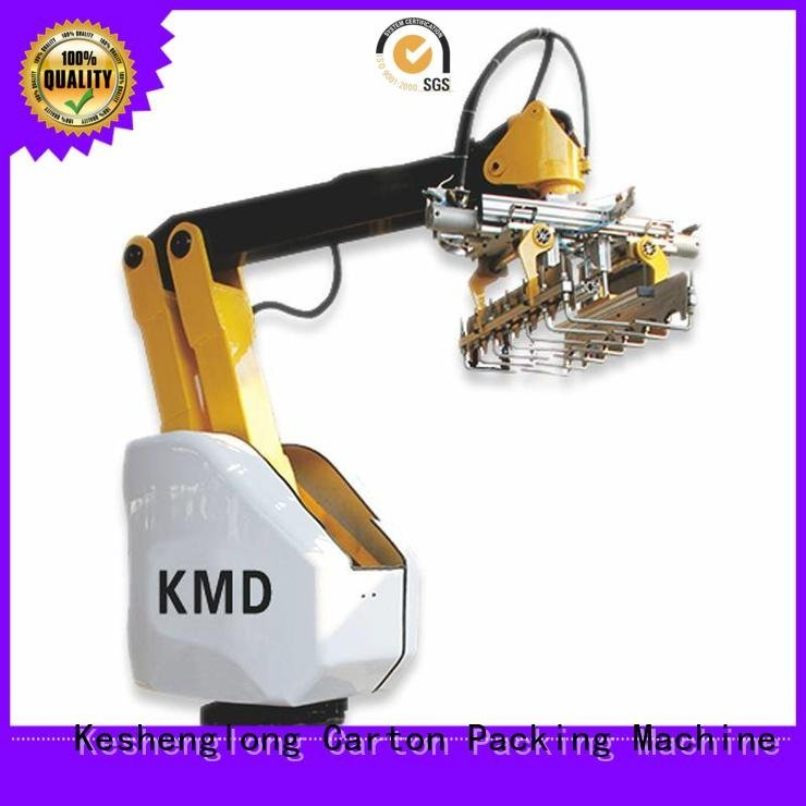 Auxiliary Top cardboard box printing machine three color KeShengLong Brand cardboard box printing machine PFA
