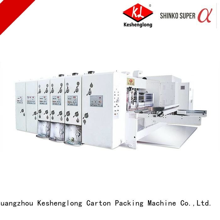 printing k1 slotting flexo printing and die cutting machine KeShengLong