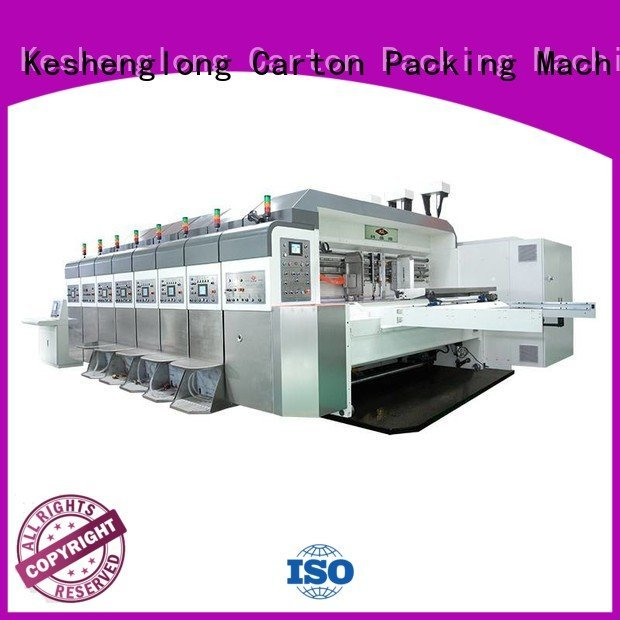 Quality China hd flexo KeShengLong Brand top HD flexo printer slotter