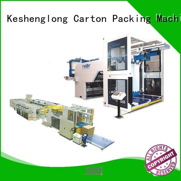 KeShengLong Brand PFA three color cardboard box printing machine four color six color