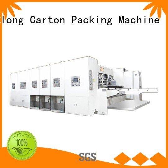 KeShengLong Brand jumbo automatic automatic printing slotting die cutting machine cutting machine