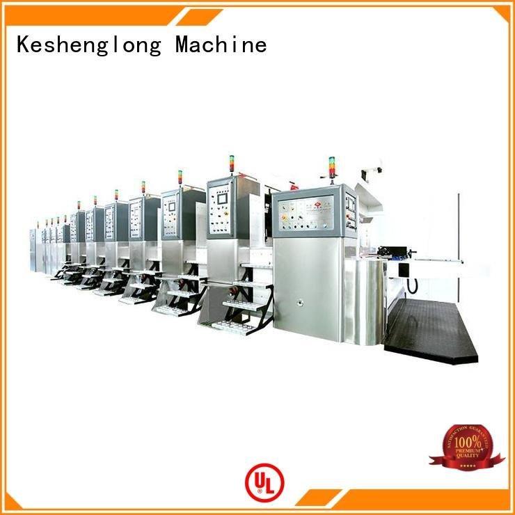 KeShengLong cutting HD flexo printer slotter die automatic