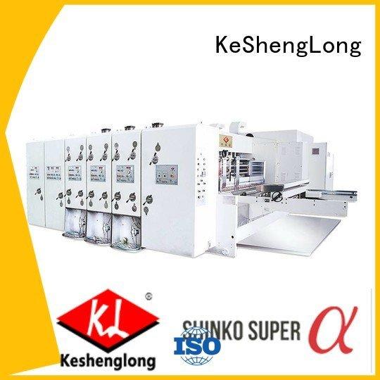 machine slotting automatic printing slotting die cutting machine six color KeShengLong