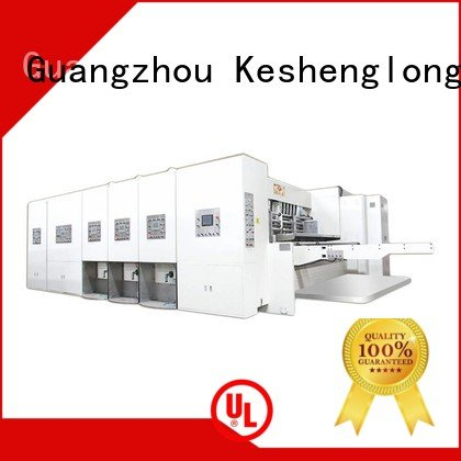 KeShengLong four color die automatic printing slotting die cutting machine machine printing