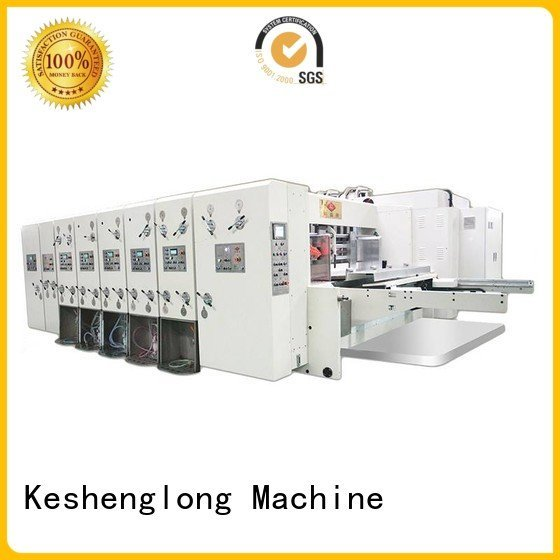k1 automatic printing slotting die cutting machine (jumbo) slotting KeShengLong